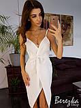 Элегантное платье с имитацией запаха, фото 2