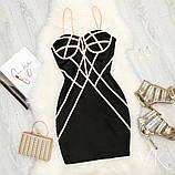 Женское роскошное  платье Н-545, фото 2