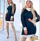 Модное сексуальное женское платье туника, фото 2