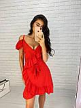 Красивое женское платье на запах, фото 2
