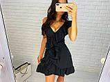 Красивое женское платье на запах, фото 3