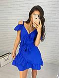 Красивое женское платье на запах, фото 4