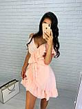 Красивое женское платье на запах, фото 5