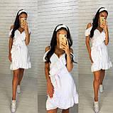 Красивое женское платье на запах, фото 6
