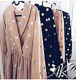 Модное нежное женское платье в горошек, фото 6