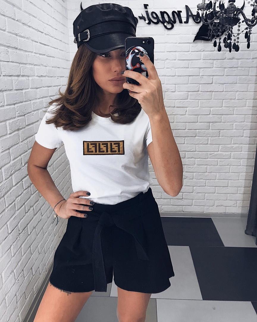 Женские стильные шортики из фетра