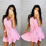 Красивое платье с пояском, фото 2