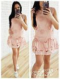 Модное красивое нежное женское платье, фото 5
