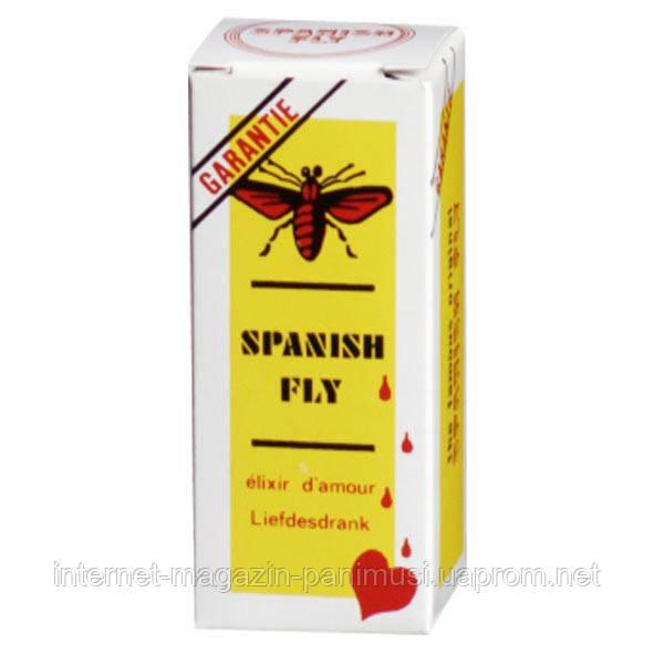 Легендарная Испанская Мушка женщинский возбудитель сильного дейсвия Spanishe Fly S-Drops страстный секс 15мл.