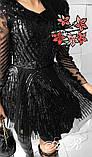 Модное стильное женское вечернее платье из пайетки, фото 2