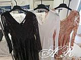 Модное стильное женское вечернее платье из пайетки, фото 6