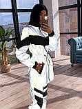 Женский  Костюмчик светоотражающая ветровка + брюки карго, фото 2