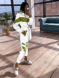 Женский  Костюмчик светоотражающая ветровка + брюки карго, фото 4