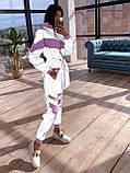 Женский  Костюмчик светоотражающая ветровка + брюки карго, фото 6