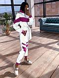 Женский  Костюмчик светоотражающая ветровка + брюки карго, фото 8