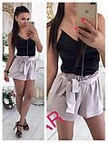 Женский высокие шорты из шелка, фото 2