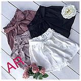 Женский высокие шорты из шелка, фото 8
