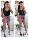 Женский высокие шорты из шелка, фото 10