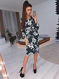 Стильное женское платье-футляр, фото 4