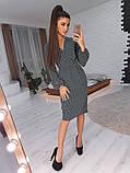 Стильное женское платье-футляр, фото 6