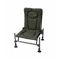 Крісло фідерне коропове Elektrostatyk F2 CUZO (до 120 кг) ОЛИВКА