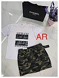 Женская нежная футболка с надписями, фото 2