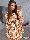 Романтическое платье с животным принтом, фото 3