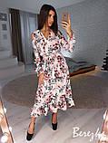 Элегантное цветочное платье, фото 2