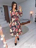 Элегантное цветочное платье, фото 3