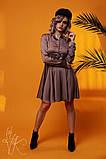 Женское стильное шелковое платье  Н-278, фото 3
