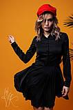 Женское стильное шелковое платье  Н-278, фото 5