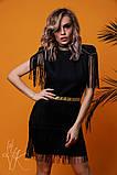 Женское стильное оригинальное платье  Н-482, фото 2