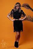 Женское стильное оригинальное платье  Н-482, фото 3