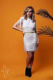 Женское стильное оригинальное платье  Н-482, фото 4