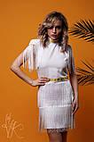 Женское стильное оригинальное платье  Н-482, фото 5