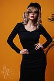 Женское стильное оригинальное платье  Н-485, фото 2