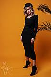 Женское стильное оригинальное платье  Н-485, фото 3