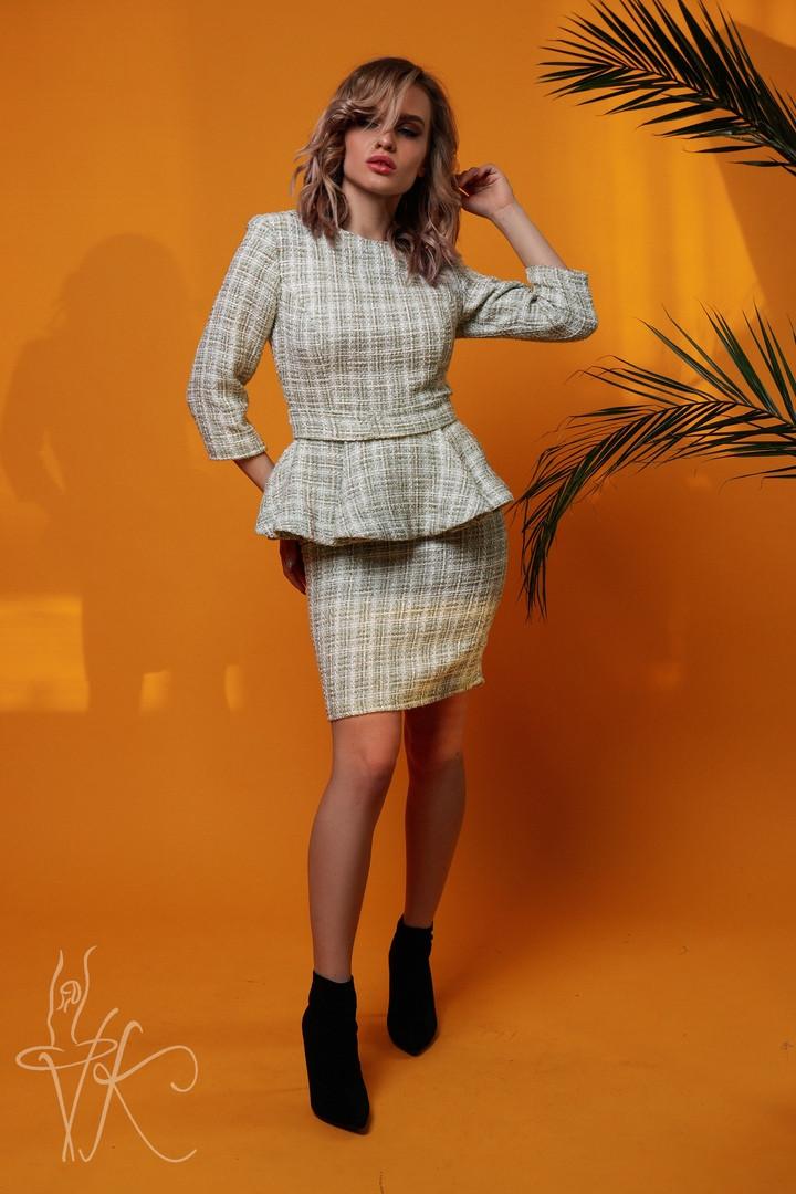 Женский костюм юбка с кофтой К-192
