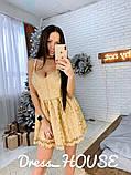"""Мерцающее женское платье """"Baby doll"""", фото 5"""