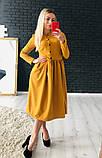 Нежное красивое платье миди, фото 4