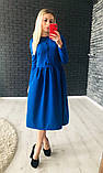 Нежное красивое платье миди, фото 5