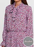 Женское легкое платье в мелкий цветочный принт, фото 3
