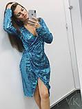 Женское стильное трендовое платье Н-438, фото 5