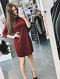 Женское платье сдержанного кроя  Н-318, фото 4