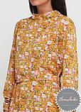 Женское легкое нежное  платье миди в мелкий цветочный принт, фото 3