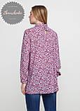 Женское легкое нежное  платье - туника с чокером, фото 2