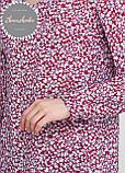 Женское легкое нежное  платье - туника с чокером, фото 4