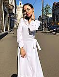 Женское идеальное красивое платье на запах, фото 3