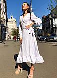 Женское идеальное красивое платье на запах, фото 4