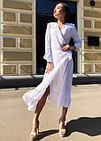 Женское идеальное красивое платье на запах, фото 5